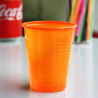 Gobelet plastique mandarine 20 cl
