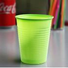 Gobelet plastique vert anis 20 cl