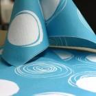 """Serviettes en papier """"Cercles"""" turquoise"""