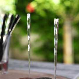Pic apéritifs design transparents