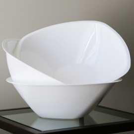 Saladier en plastique blanc 300 cl