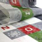 Chemins de table mosaïque Noël