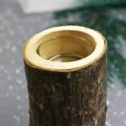 Photophore Bois design 14 cm