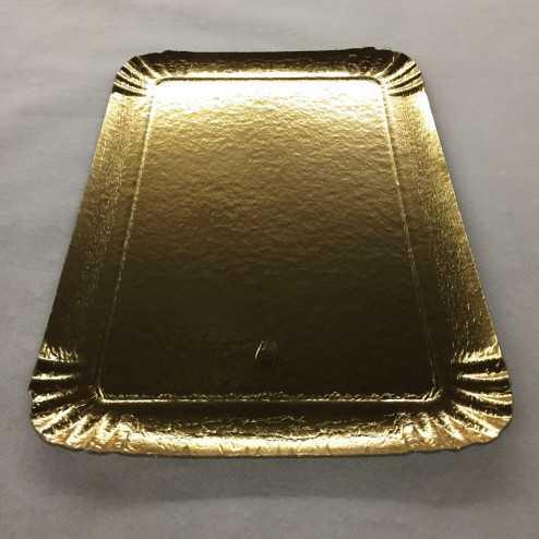 Plateau carton or 28 x 19 cm