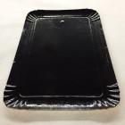 Plateau carton noir 28 x 19 cm