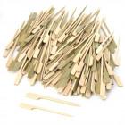 Pics apéritif bambou plats 10,5 cm