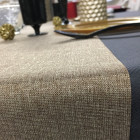 Chemins de table tissu Or 5 mètres