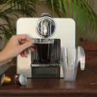 Tasses à café design transparente 15 cl