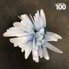 Couteau en plastique blanc x 100