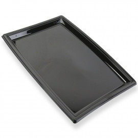 Plateau grand modèle noir. Recyclable. Par 5