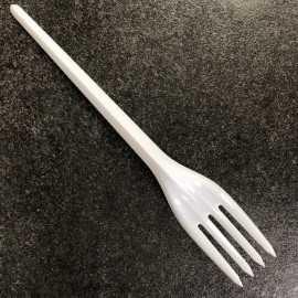 Fourchette blanche design x 100