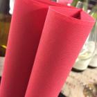 Serviette tendance Lin rouge 40 x 40 par 50
