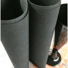 Serviette tendance Lin noire 40 x 40 par 50