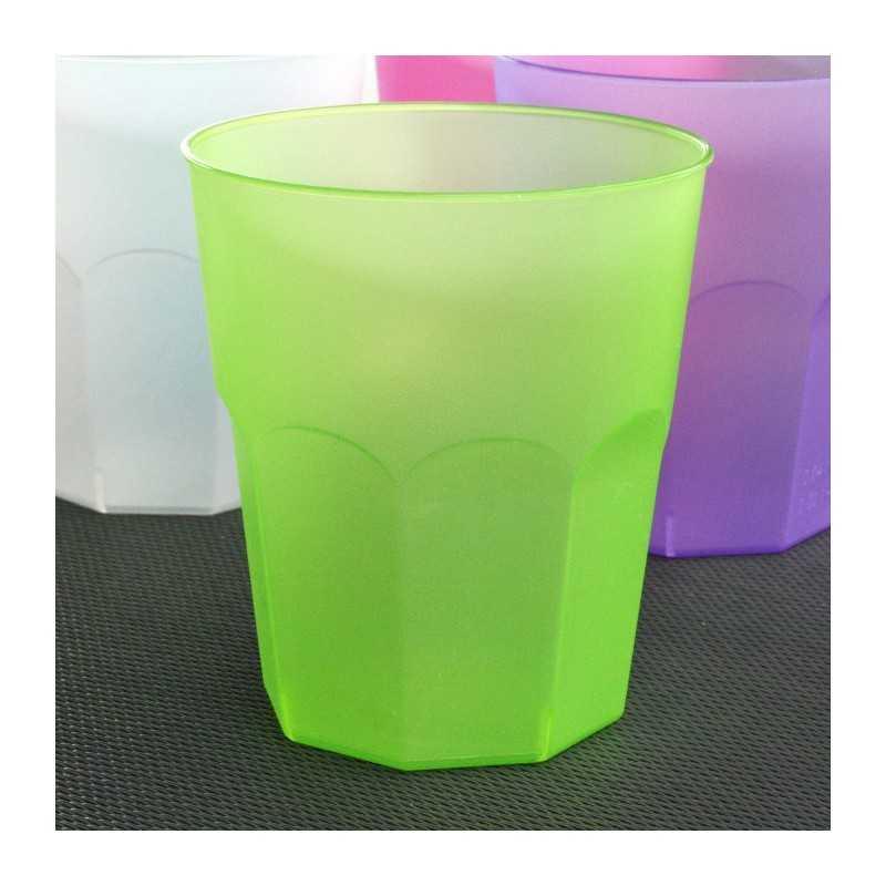 verre cocktail en plastique vert anis vaisselle jetable discount. Black Bedroom Furniture Sets. Home Design Ideas