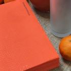 Serviettes Ethik chic 40 x 40 Orange