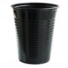 Gobelet plastique noir 20 cl