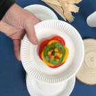 Assiettes biodégradables rondes 18 cm