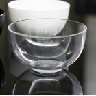 Coupelle en plastique ronde transparente 15 cl