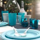 Photophore de table Turquoise