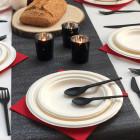 Photophore de table Noir