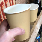 Gobelet carton esprit Kraft 35 cl