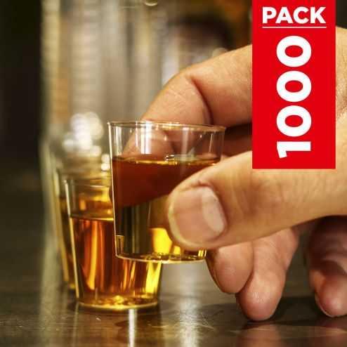 Pack 1000 verres shooter 3cl