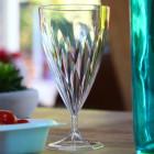 Pack 12 verres à vin + 12 verres à eau design cristal