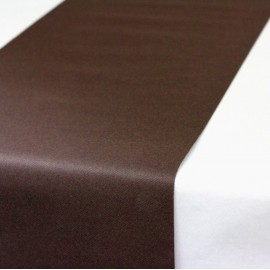 Chemins de table chocolat