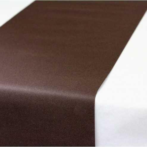 Chemins de table chocolat