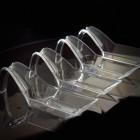 Cuillère apéritive design 3 cl. Recyclable. Réutilisable. Par 60