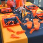 Nappes en non-tissé mandarine