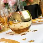Photophore de table Or boule