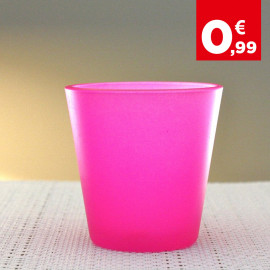 Photophore de table Summer Rose fluo