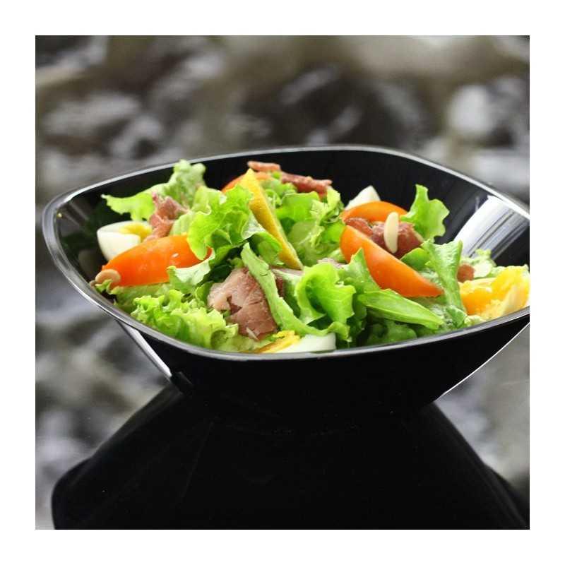 saladier en plastique noir 300 cl vaisselle jetable discount. Black Bedroom Furniture Sets. Home Design Ideas