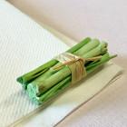 Mini-fagot bois vert décoration 5 cm. Par 4
