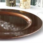 Pack 24 assiette chocolat. Recyclables - Réutilisables.