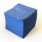 "Serviettes ""Cocktail"" Bleu marine 20 x 20cm"