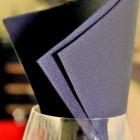 1440 Serviettes noires 38cmx38cm Soft 2 plis