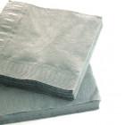 1800 Mini-serviettes 20cmx20cm Gris béton