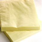 1800 Mini-serviettes 20cmx20cm ivoire