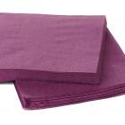 1800 Mini-serviettes 20cmx20cm aubergine