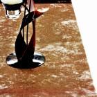 Chemins de table élégance chocolat