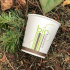 2000 Gobelets carton + PLA 18 cl Biodégradables compostables