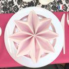96 Assiettes luxe 19 cm Recyclables réutilisables blanc nacré