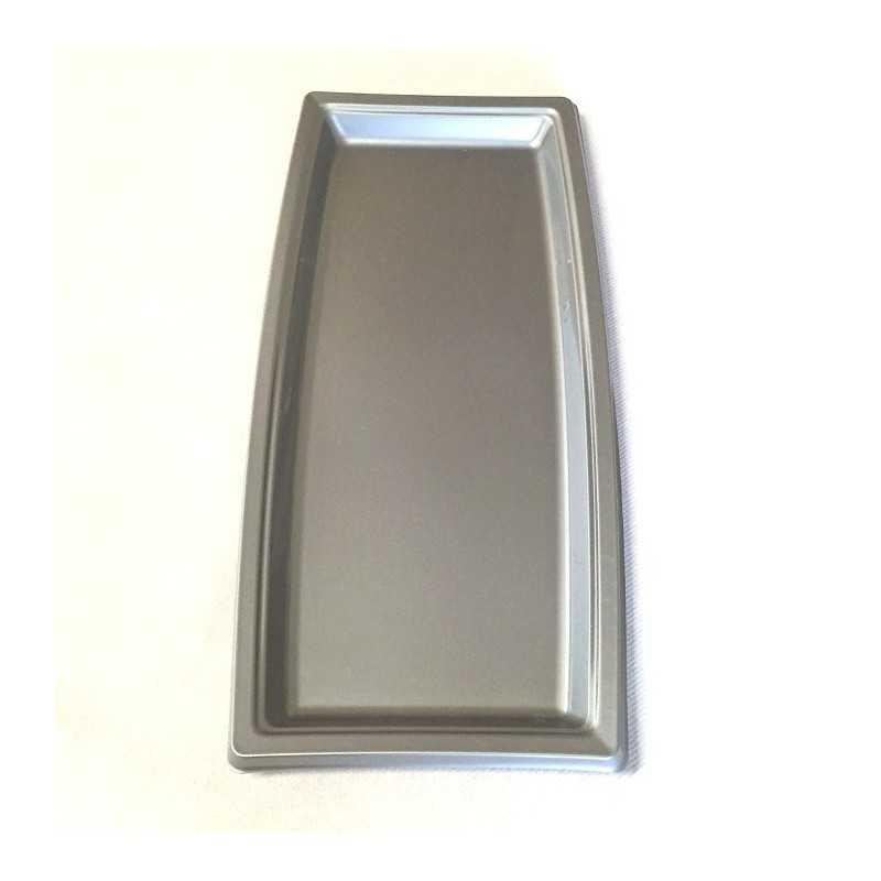 plateau plastique rectangulaire gris vaisselle jetable discount. Black Bedroom Furniture Sets. Home Design Ideas