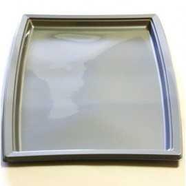 Plateau plastique gris très grand modèle