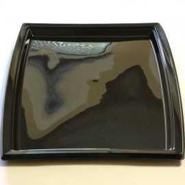 Plateau plastique noir très grand modèle