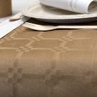 Nappe en papier damassé esprit kraft 25 mètres