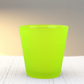 Photophore de table summer jaune vert fluo