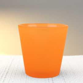 Photophore de table summer orange fluo